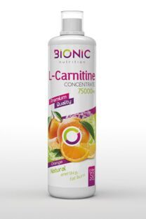 L-carnitine concentrate 75 000 мг.