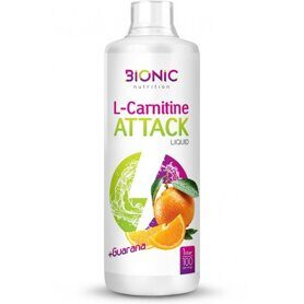 Bionic L-carnitine Attack (1000мл) Апельсин